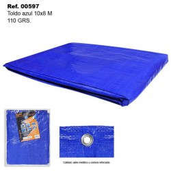 Toldo Azul 10X8m 110gr