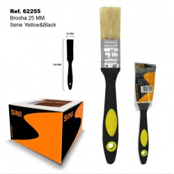 Brocha 25mm Serie Yellow & Black SINI