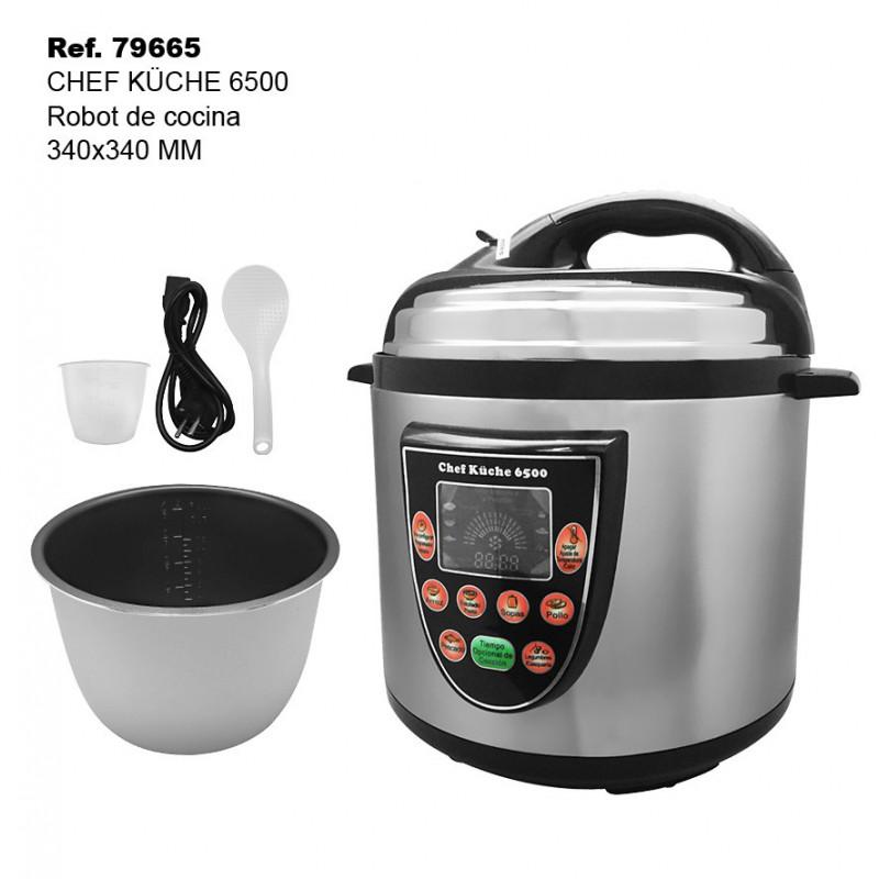 Robot de cocina chef kuche 6500 comprar por internet en - Grand master robot de cocina 24h ...
