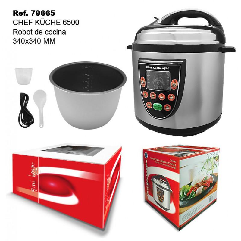 Robot de cocina chef kuche 6500 comprar por internet en - Cocinas chef ...
