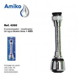 Economizador - Dosificador de Agua Acero Inoxidable + ABS Amiko