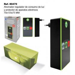 Ahorrador Regulador de Consumo de Luz y Protector de Aparatos Eléctricos