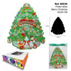 Bolsa de Regalo Traditional Christmas 24,7x31,5x12cm SINI