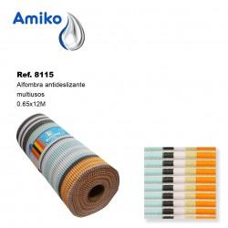 Alfombra Antideslizante Multiusos Modelo 7382 0.65x12M Amiko