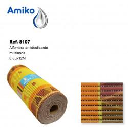 Alfombra Antideslizante Multiusos Modelo 7312 0.65x12M Amiko