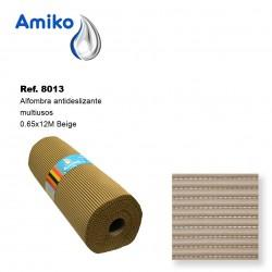 Alfombra Antideslizante Multiusos Beige 0.65x12M Amiko