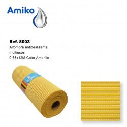 Alfombra Antideslizante Multiusos Amarilla 0.65x12M Amiko