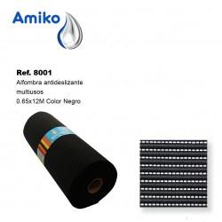 Alfombra Antideslizante Multiusos Negra 0.65x12M Amiko