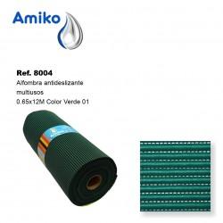 Alfombra Antideslizante Multiusos Verde 0.65x12M Amiko