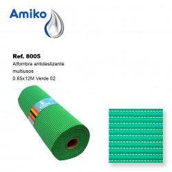 Alfombra Antideslizante Multiusos Verde 02 0.65x12M Amiko