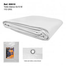 Toldo Blanco 6x10m 110gr SINI