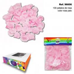 100 Petalos de Rosa Color Rosa Palo SINI