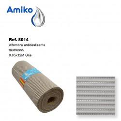 Alfombra Antideslizante Multiusos Gris 0.65x12M Amiko