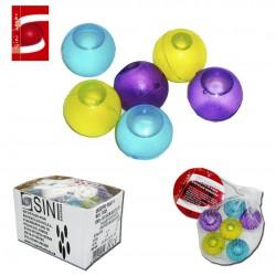 Juego 6 Bolas de Plástico para Enfriar Bebidas SINI