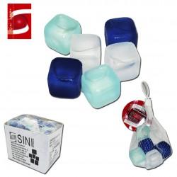 Juego 6 Cuadrados de Plástico para Enfriar Bebidas SINI