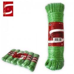 Cuerda de Nylon Verde 7mmx20m SINI