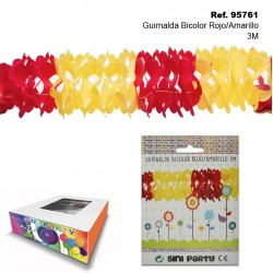 Guirnalda Bicolor Rojo/Amarillo 3M SINI
