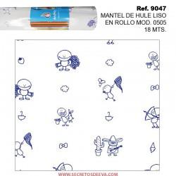 MANTEL DE HULE EN ROLLO MODELO 0505