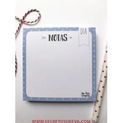 """Bloc  """"Notas"""""""