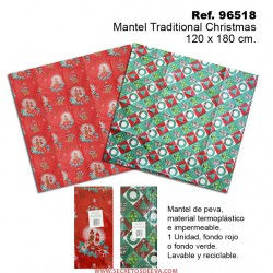 Mantel Traditional Christmas 120x180cm SINI