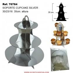Soporte para Cupcake SILVER