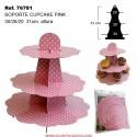 Soporte para Cupcake PINK