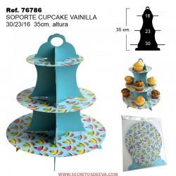 Soporte para Cupcake VAINILLA