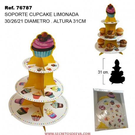 Soporte para Cupcake LIMONADA