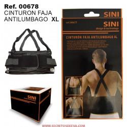 Cinturón Faja Antilumbago XL