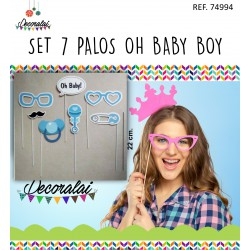 SET 7 PALOS OH BABY BOY