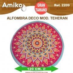 ALFOMBRA DECO REDONDA DIAM. 1,20M MOD. TEHERAN