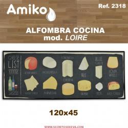 ALFOMBRA COCINA 120x45 CM.  MOD. LOIRE