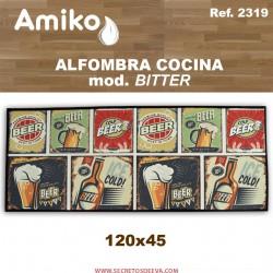 ALFOMBRA COCINA 120x45 CM.  MOD. BITTER