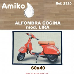 ALFOMBRA COCINA 60X40 CM. MOD. LIRA