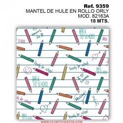 MANTEL DE HULE EN ROLLO ORLY MOD. 82149D
