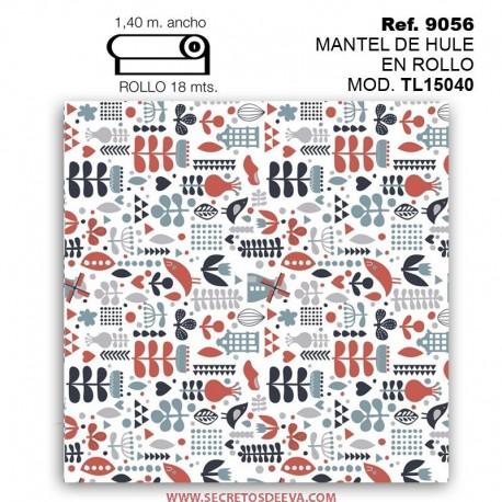 MANTEL DE HULE EN ROLLO MOD. TL15040