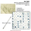 MANTEL BARNIZADO LAVABLE ANTIMANCHAS EN ROLLO MOD. 35