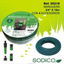 """Manguera de Riego 3/4"""" x 15m SINI"""