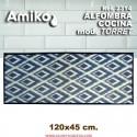 ALFOMBRA COCINA 120X45 MOD. TORRET