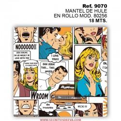 MANTEL DE HULE EN ROLLO MOD. 80256