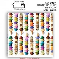 MANTEL DE HULE EN ROLLO MOD. 80060