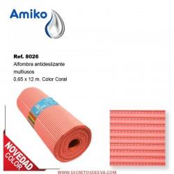 Alfombra Antideslizante Multiusos Coral 0.65x12m Amiko