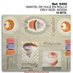 MANTEL DE HULE EN ROLLO ORLY MOD. 82052A