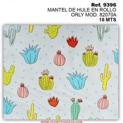 MANTEL DE HULE EN ROLLO ORLY MOD. 82070A