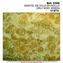 MANTEL DE HULE EN ROLLO ORLY MOD. 80083A