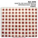 MANTEL DE HULE EN ROLLO VERONIKA MOD. 80070B