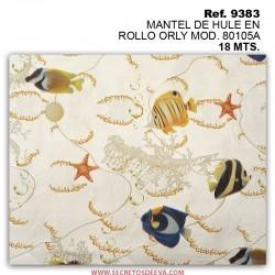 MANTEL DE HULE EN ROLLO ORLY MOD. 80105A