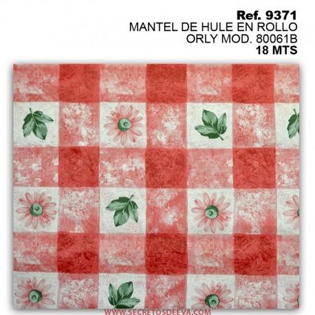 MANTEL DE HULE EN ROLLO ORLY MOD. 80061B