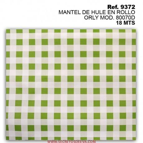 MANTEL DE HULE EN ROLLO ORLY MOD. 80070D
