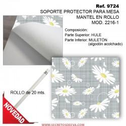 MULETÓN PROTECTOR PARA MESA EN ROLLO, MOD. 2216-1